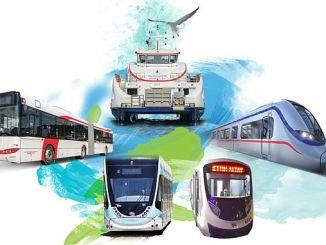 Измирде транспорт Майиста Курус Рамазан Байраминда