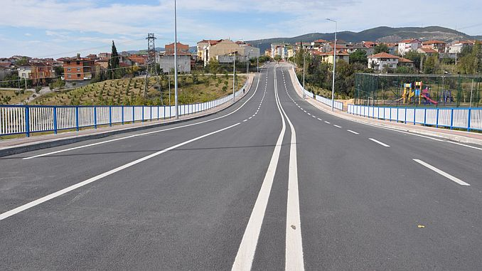 izmit and kandira are modernizing roads