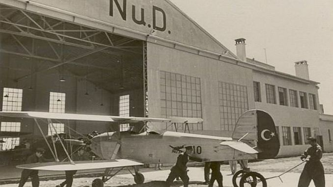 nuri demirag and the first national turk flew in istanbul