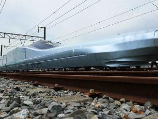 alfa x -juna kulkee kilometriä tunnissa alkoi testata Japanissa