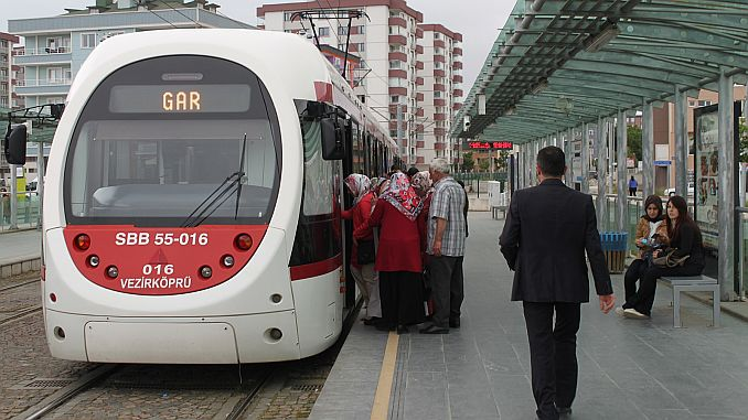 samsunda will be extended over the night of tramway service
