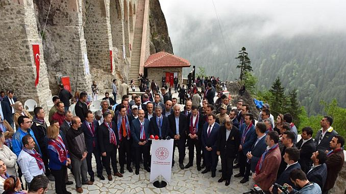 sumela manastiri ziyarete acildi