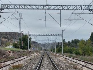 упозорење на високи напон на железници тцддден баликесир