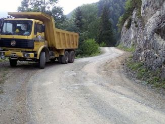road works were given in trabzon