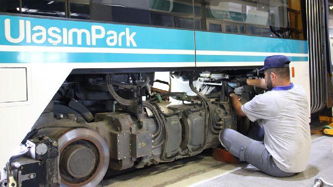 Обслуживание трамваев Аккарай