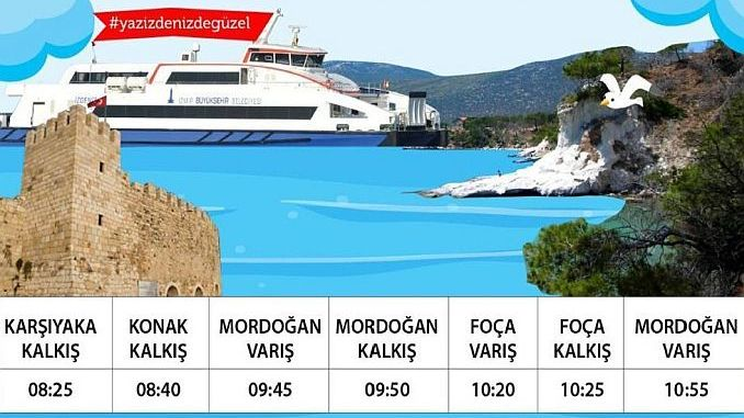 Mordogan and Foca Sefer times