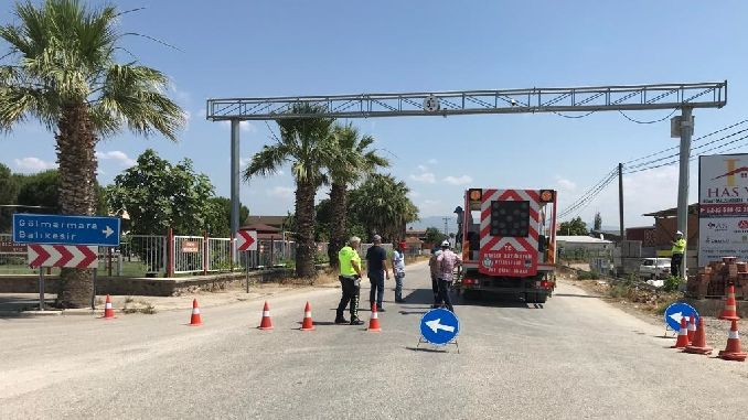 Manisa Buyuksehir Teams Work for Traffic Safety