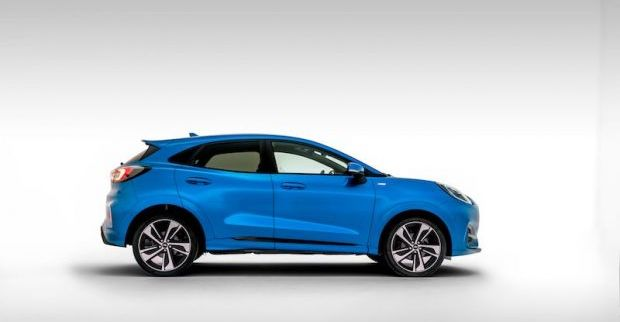 New Ford Puma Crossover