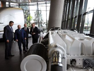 minister mustafa varanktan ford otosan visit to r ge center