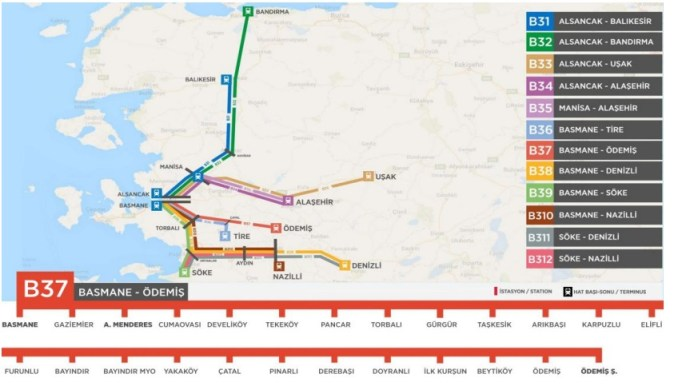 basmane odemis togplan og kort