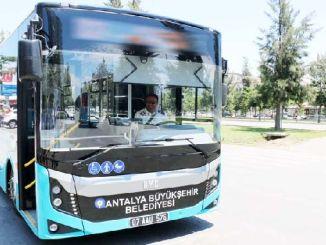 Автобусът започва до платото Feslikan