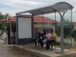 nuevas paradas de autobús gordese