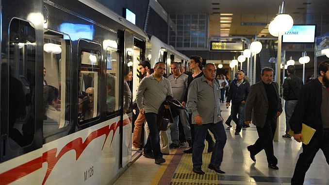 izmir metro transports billion passengers per year