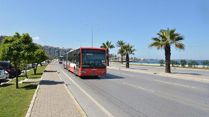 izmirliler attention eshot made a change in public transport services