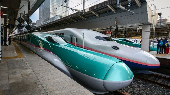 The cause of chaos in Japan's fast train lines were determined sumuklubocek