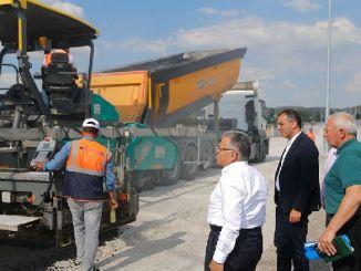 tusind tons asfalt til brug