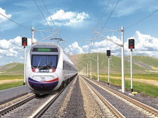 konya karaman high speed train line reached
