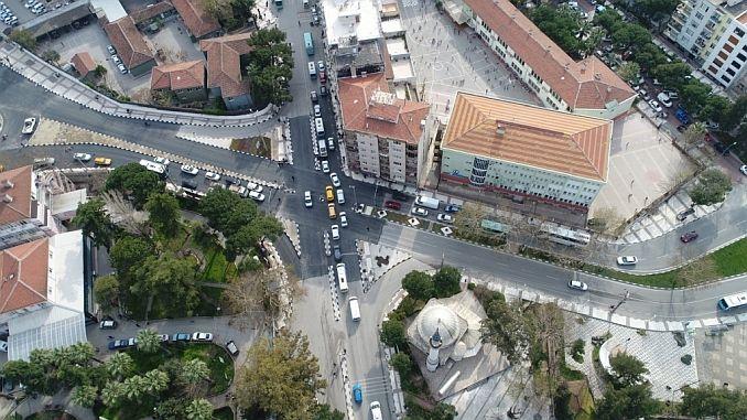 Manisada Smart Kreuzungen atmeten Verkehr während des Urlaubs