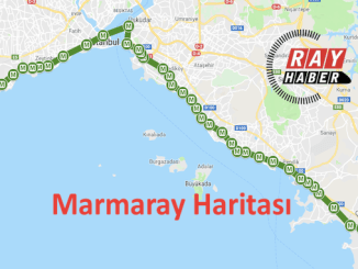 Kort over Marmaray