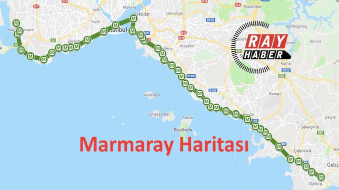 Marmaray xəritəsi