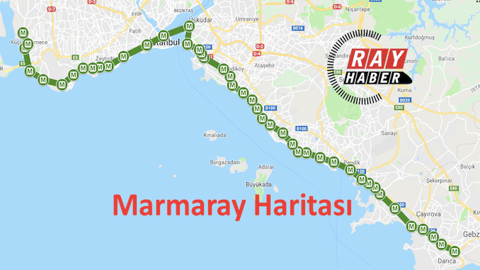 مارمار کا نقشہ