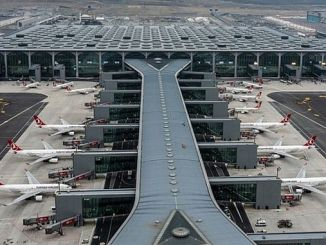 mayisda used Istanbul airport over a million passengers