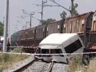 كاميرا تحطم القطار
