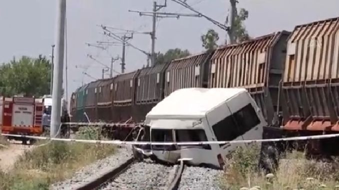 train crash camera