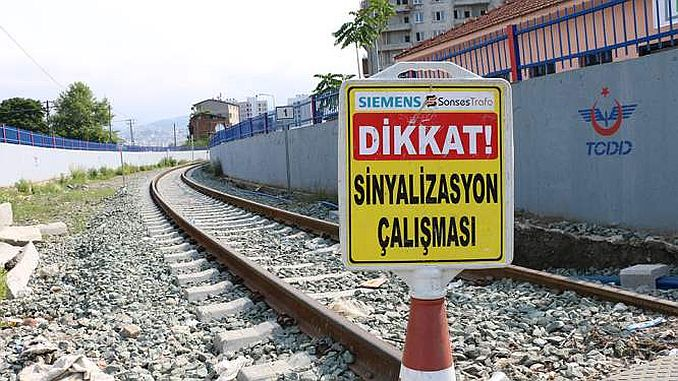 Samsun-Kalin Railway Line is Signed