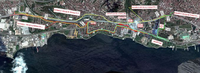 drivers attention mevlana junction new traffic arrangement