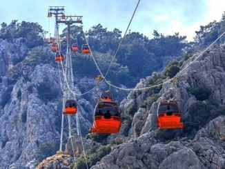 tunektepe ropeway transported a thousand people to the summit