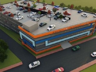 seven-storey indoor car park opens in September