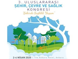 international city environment and health congress will be held in April in Ankara