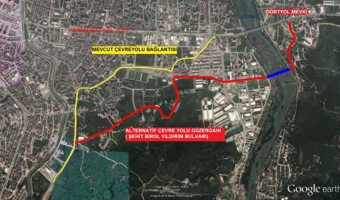 New Route to Ordu Ring Road
