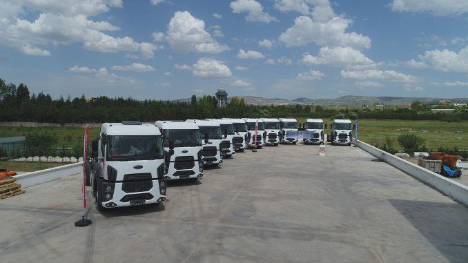 akkoc expanded its logistics fleet with ford trucks
