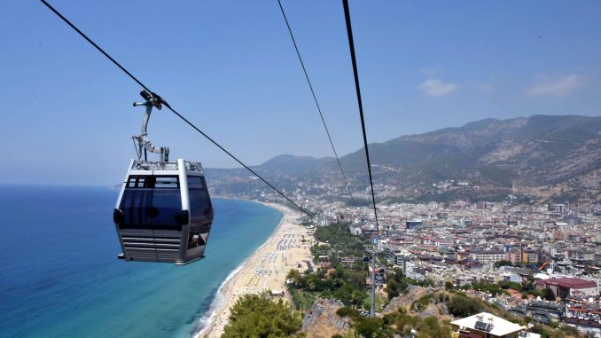 alanya cable car price schedule