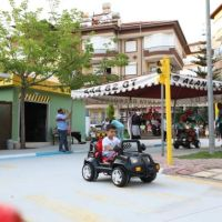 Children had fun and learned traffic in Alanya