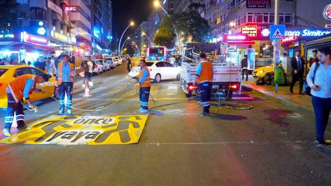 socodka dadka lugaynaya ee magaalada Ankara