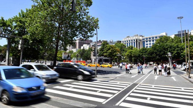 pedestrian crossings in ankara