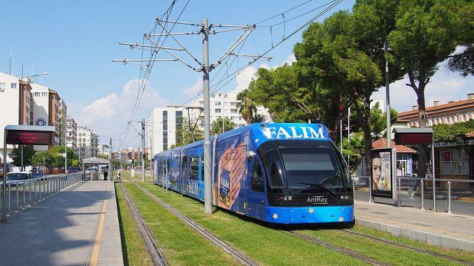 public transport in july in antalya free