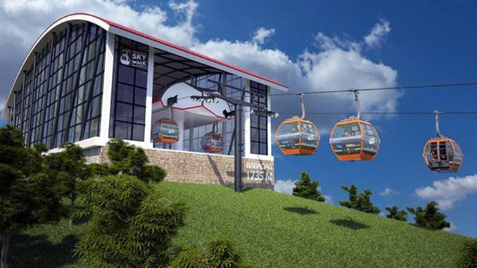 babadag ropeway will host million people every year