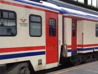 minister turhan ankara express starts its flights today