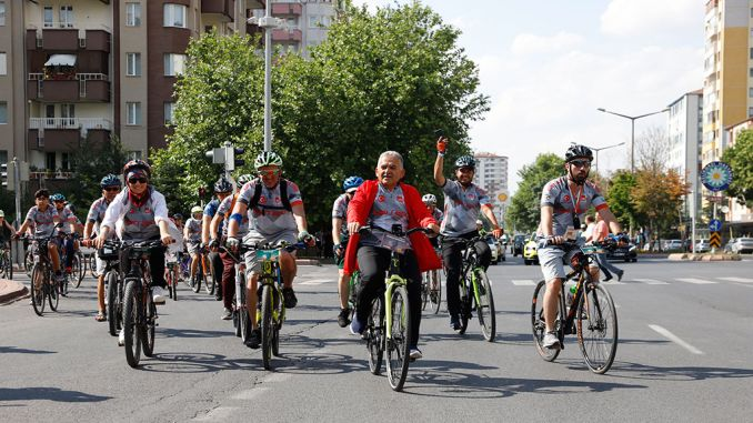 an erciyes classic festa bike festival started