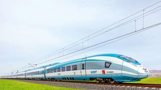 When will the train to Bursa arrive quickly