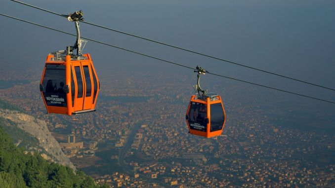 sea ​​cable car service times changed