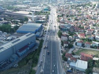 dilovasının road and pavement work continues