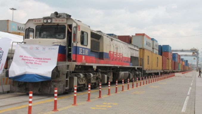 dp world yarimca is connected to the genie by rail