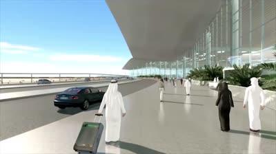 dubai al maktoum international airport std original