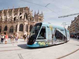 fransada caen la merin yeni tramvay sistemi devreye girdi
