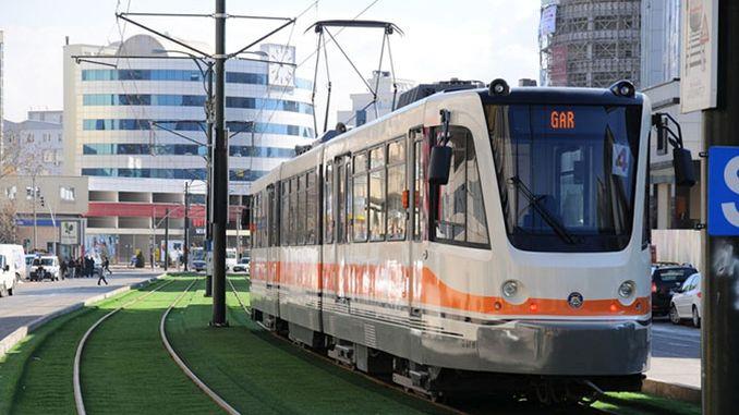 повишаване на обществения транспорт в gaziantep